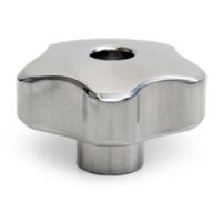6040/T - Pokrętło gwiaździste aluminiowe