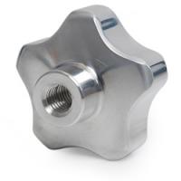 6040 - Pokrętło gwiaździste aluminiowe